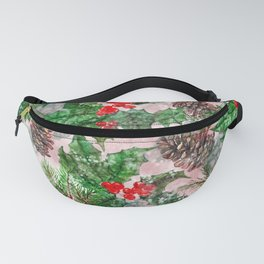 Winter and Christmas Design Fanny Pack