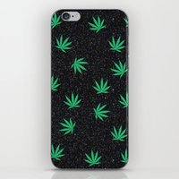weed iPhone & iPod Skins featuring Weed by jajoão