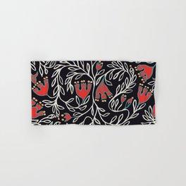 Medievel pattern black christmas Hand & Bath Towel