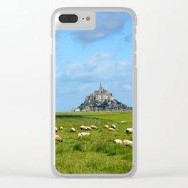 Le Mont Saint Michel 5 Clear iPhone Case