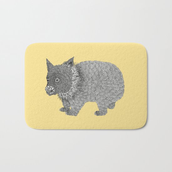 Little Wombat Bath Mat