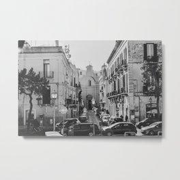 street in Bari Metal Print