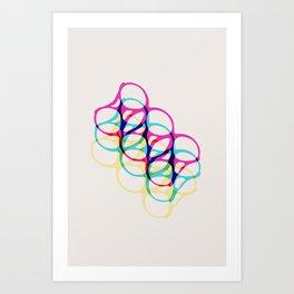 Visions of a Six Pack Art Print