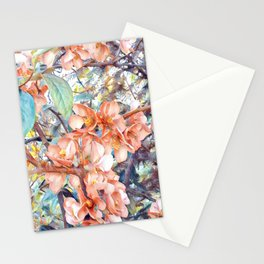 Aquarell Floral 05 Stationery Cards