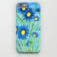 Blue Daisies  iPhone 6s Slim Case