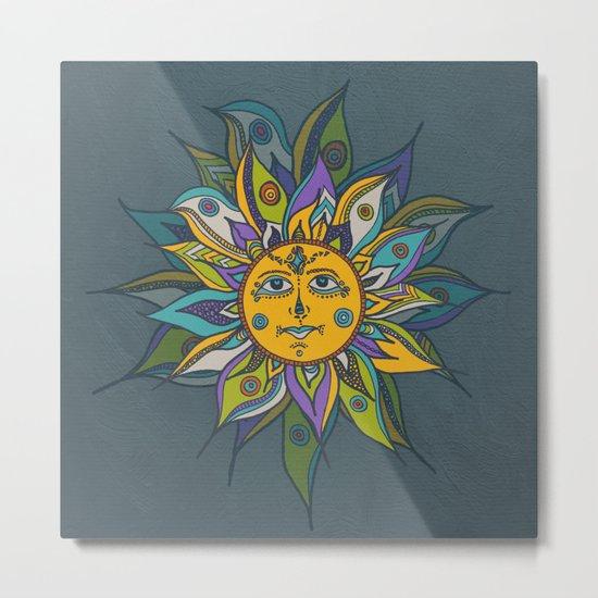 Into the sun Metal Print