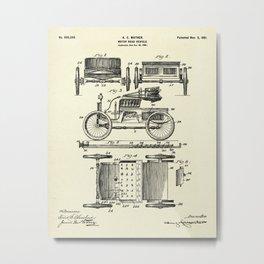Motor Road Vehicle-1901 Metal Print