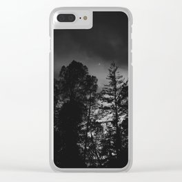Dreary Dream Clear iPhone Case