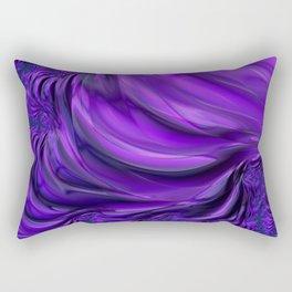 Purple Drapes Rectangular Pillow