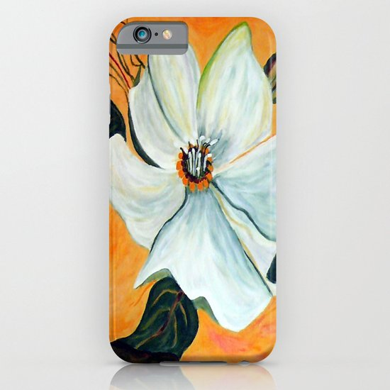 White Flower iPhone & iPod Case