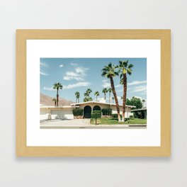 Memory form California Framed Art Print