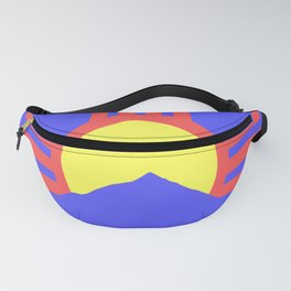 flag of Roswell Fanny Pack