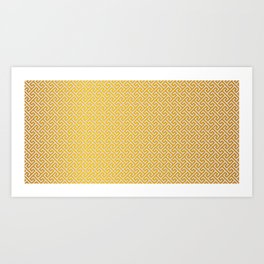 Traditional Gemoetric Pattern Art Print