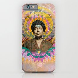 Praise Lorde: Art Godis Audre Lorde iPhone Case