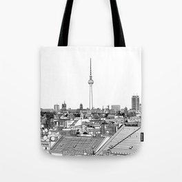 Berlin Illustration Tote Bag