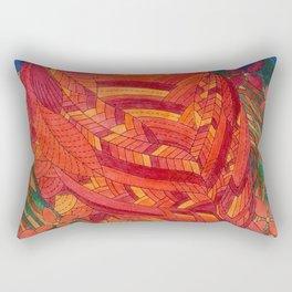 Happy and bright Bird Rectangular Pillow