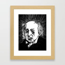 02. Zombie John Adams  Framed Art Print