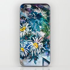 Flowered Expression iPhone & iPod Skin