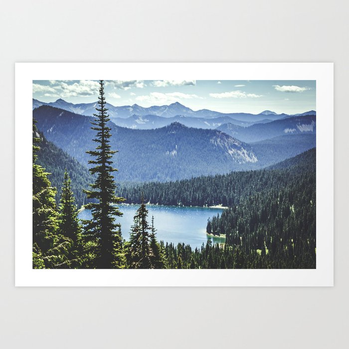 Dewey Lake, Washington Kunstdrucke