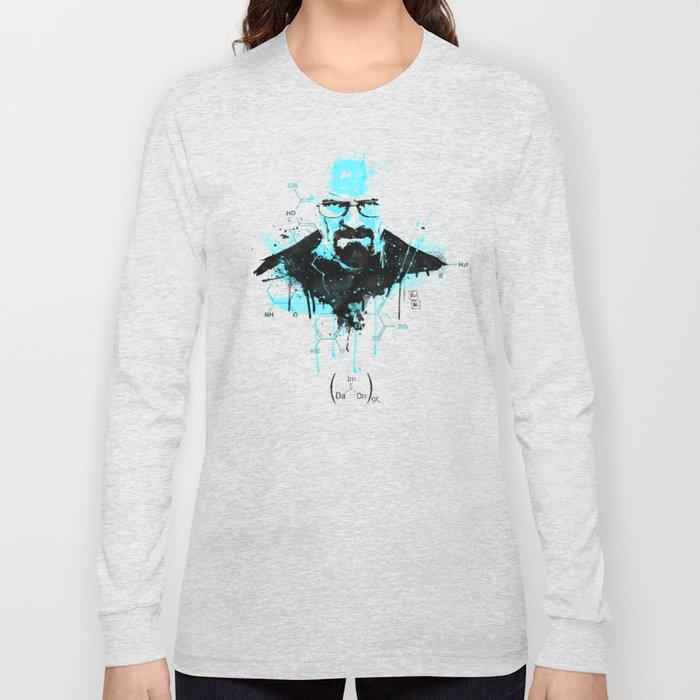 """[Im] [Da] [Dn] [Gr] ... """"I am the Danger"""" [Heisenberg] Long Sleeve T-shirt"""