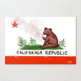 Smokey Bear Canvas Print