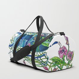 Tangled in flowers Duffle Bag