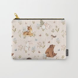 Blooming Meadow Carry-All Pouch