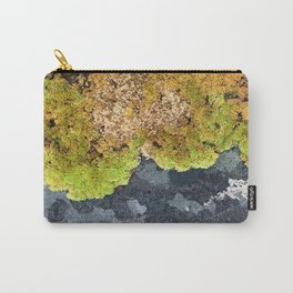 Stone Mosses Carry-All Pouch
