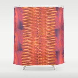 Lava Lamp Skies Shower Curtain