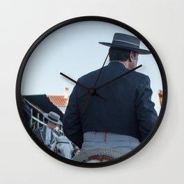 Horse Festival Wall Clock