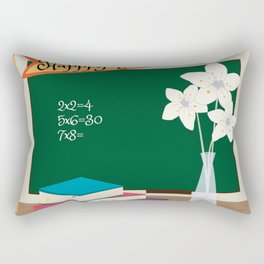 Happy Teacher's day! Rectangular Pillow