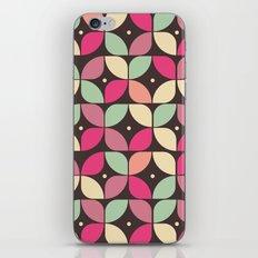 Funky Flower Garden Pattern iPhone & iPod Skin