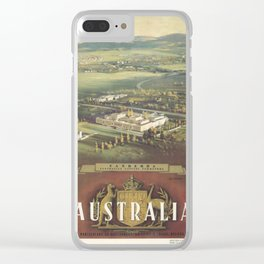 Old Parliament House Clear iPhone Case
