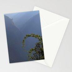 Bamboo and Morning Mist near Tatopani Stationery Cards