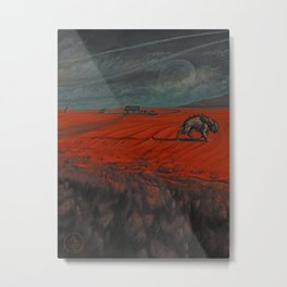In the Borderlands Metal Print