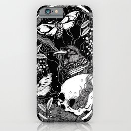 edgar allan poe - raven's nightmare iPhone Case