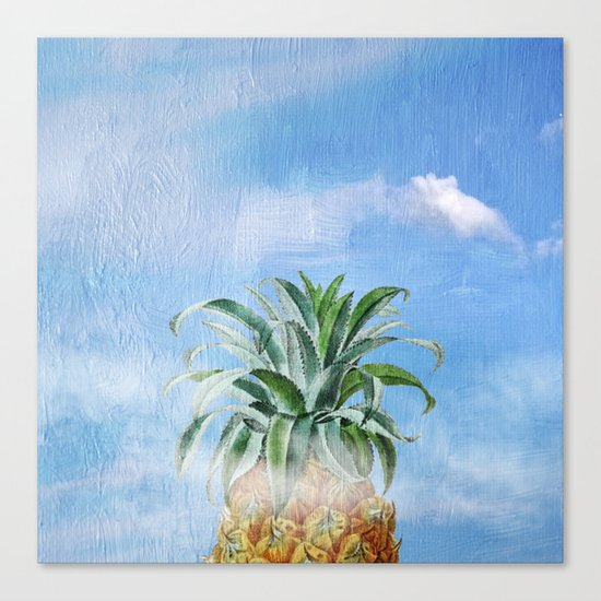 Pineapple Heaven Canvas Print