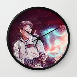 Egon Battling Gozer With The Ghostbusters Wall Clock