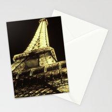 eiffel@night Stationery Cards