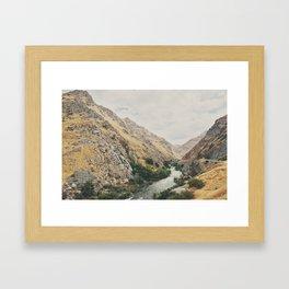 the Kern River .. Framed Art Print
