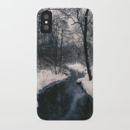 Almost frozen iPhone Case