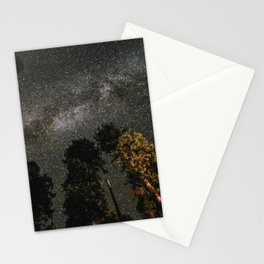 Milky Way Above Sequoia Stationery Cards