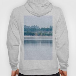 Morning begins with mist Hoody