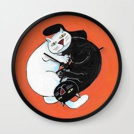 Korean Cats Wall Clock