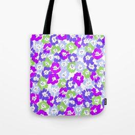 Morning Glory - Violet Multi Tote Bag