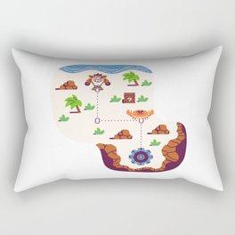 Overworld: Beach Rectangular Pillow