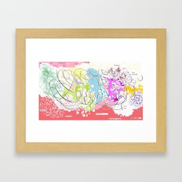 Just Wanna Framed Art Print