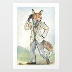 Lord Fox, Duke of Windsor Art Print