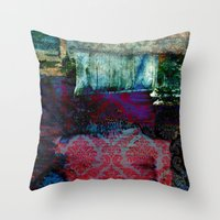 ethnic Throw Pillows featuring Ethnic by haroulita