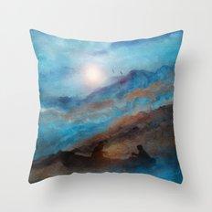 Calling The Sun VI Throw Pillow